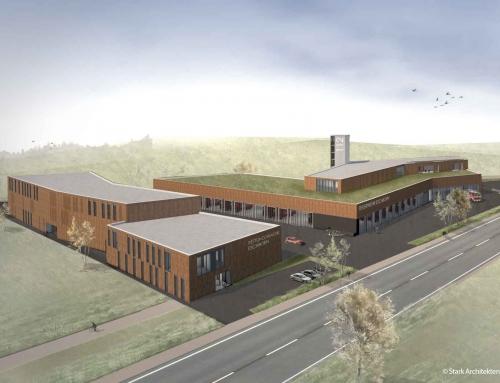 Neubau des Notfallzentrums für die Freiwillige Feuerwehr Eschborn